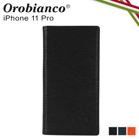 【最大1000円OFFクーポン】 オロビアンコ Orobianco iPhone11 Pro ケース スマホ 携帯 手帳型 アイフォン メンズ レディース ONDA BOOK TYPE SMARTPHONE CASE ブラック ネイビー オレンジ 黒 ORIP-0006-11Pro
