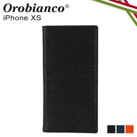 【最大1000円OFFクーポン】 オロビアンコ Orobianco iPhoneXS ケース スマホ 携帯 手帳型 アイフォン メンズ レディース ONDA BOOK TYPE SMARTPHONE CASE ブラック ネイビー オレンジ 黒 ORIP-0006XS