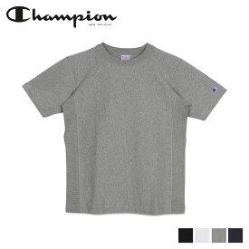 【最大2000円OFFクーポン】 チャンピオン Champion Tシャツ 半袖 リバースウィーブ メンズ REVERSE WEAVE T-SHIRT ブラック ホワイト グレー ネイビー 黒 白 C3-X301
