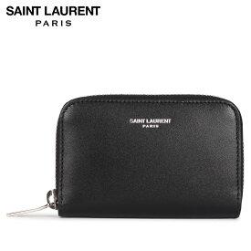 サンローラン パリ SAINT LAURENT PARIS 財布 コインケース 小銭入れ メンズ COIN CASE ブラック 黒 5065220U90N