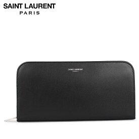 サンローラン パリ SAINT LAURENT PARIS 財布 長財布 メンズ ラウンドファスナー LONG WALLET ブラック 黒 5342900U90N