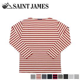 セントジェームス SAINT JAMES Tシャツ 長袖 ギルト メンズ レディース ボーダー GUILDO オフホワイト ネイビー 2501
