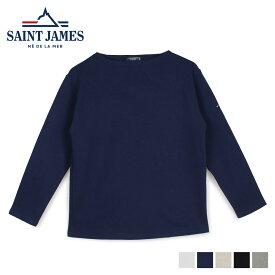 【最大2000円OFFクーポン】 セントジェームス SAINT JAMES Tシャツ 長袖 メンズ レディース ロンT カットソー GUILDO U A ホワイト ネイビー ベージュ 白 2503 [6/1 新入荷]