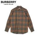 バーバリー BURBERRY シャツ 長袖 オックスフォードシャツ メンズ チェック SHIRTS ベージュ 8020863 [5/29 新入荷]