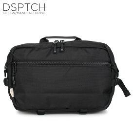 DSPTCH ディスパッチ スリングパック バッグ ショルダーバッグ メンズ 2WAY 15L SLINGPACK ブラック 黒 PCK-SP-BLK [5/15 新入荷]