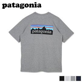 パタゴニア patagonia Tシャツ 半袖 レスポンシビリティー メンズ レディース ポケット ポケT P-6 LOGO POCKET RESPONSIBILI TEE ブラック ホワイト グレー ネイビー 黒 白 38512 [7/20 新入荷]