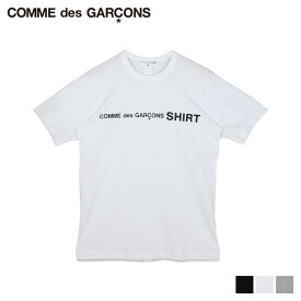 【最大2000円OFFクーポン】 コムデギャルソン COMME des GARCONS Tシャツ 半袖 メンズ レディース クルーネック TSHIRT ブラック ホワイト グレー 黒 白 W28116