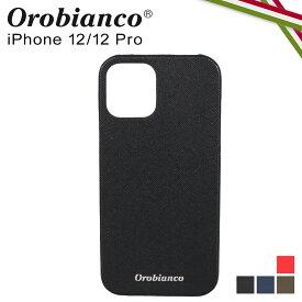 【最大1000円OFFクーポン】 オロビアンコ Orobianco iPhone 12 mini 12 12 Pro ケース スマホ 携帯 アイフォン メンズ レディース サフィアーノ調 PU LEATHER BACK CASE ブラック ネイビー カーキ レッド 黒