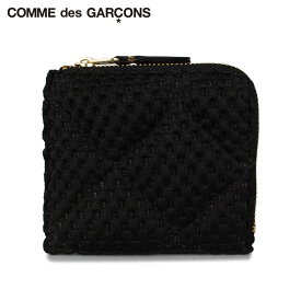 コムデギャルソン COMME des GARCONS 財布 ミニ財布 メンズ レディース L字ファスナー FAT TORTOISE ブラック 黒 SA3100FT