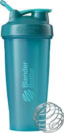 ブレンダーボトル Blender Bottle プロテイン シェイカー ボトル スポーツミキサー 800ml CLS W L ライトブルー BBCLE28