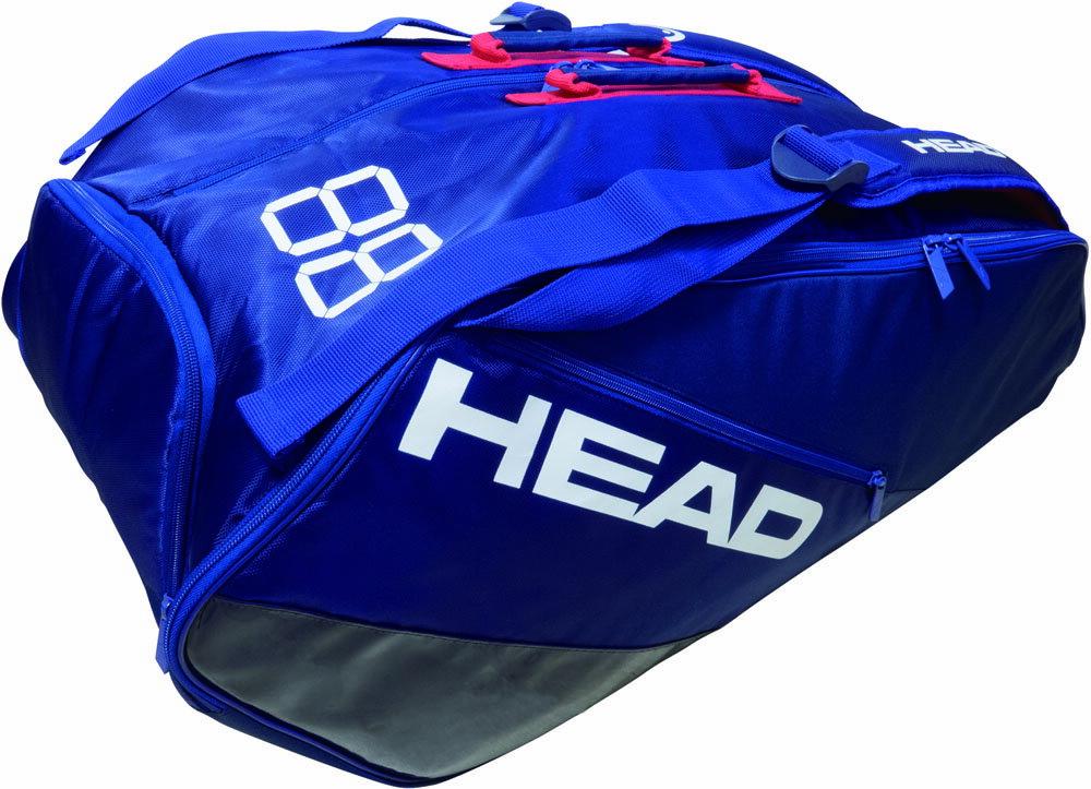 HEAD ヘッド バッグ テニス 【テニス用ラケットバッグ】 ES SUPER COMBI 9R 【あす楽対象外】