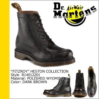 Dr. Martens Dr.Martens 7 holes boots dark brown leather men's