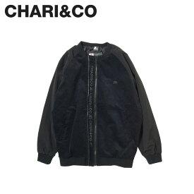 CHARI&CO チャリアンドコー ジャケット ブルゾン メンズ レディース SHAOLIN DUAL ZIPPER BLOUSON ブラック 黒