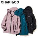 CHARI&CO チャリアンドコー ジャケット マウンテンパーカー メンズ TREK GEAR JKT ブラック ブルー ラベンダー 黒 [2…