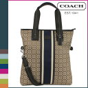 [SOLD OUT] コーチ COACH バッグ トートバッグ メンズ 2WAY F70773 カーキ ブラウン [S10]