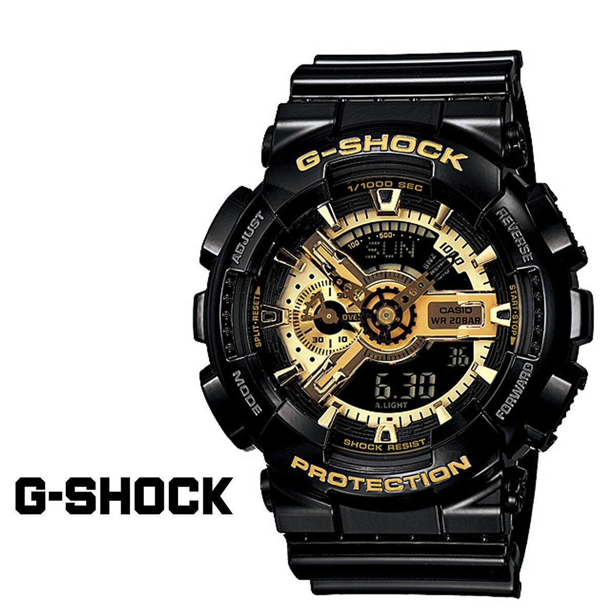 カシオ CASIO G-SHOCK 腕時計 GA-110GB-1AJF BLACK GOLD SERIES Gショック G-ショック ブラック ゴールド メンズ レディース [1/17 再入荷]