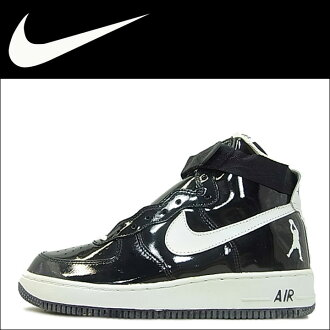 Nike NIKE air force sneakers AIR FORCE 1 HI SHEED air force 1 high seed 302640-011 black mens