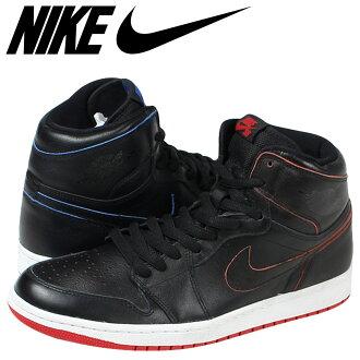 Nike SB NIKE Air Jordan sneakers AIR JORDAN 1 653532-002 black mens