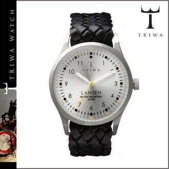 Tri TRIWA watches LAST 102 LANSEN Tarnsjo leather mens Womens 2013 new Stirling