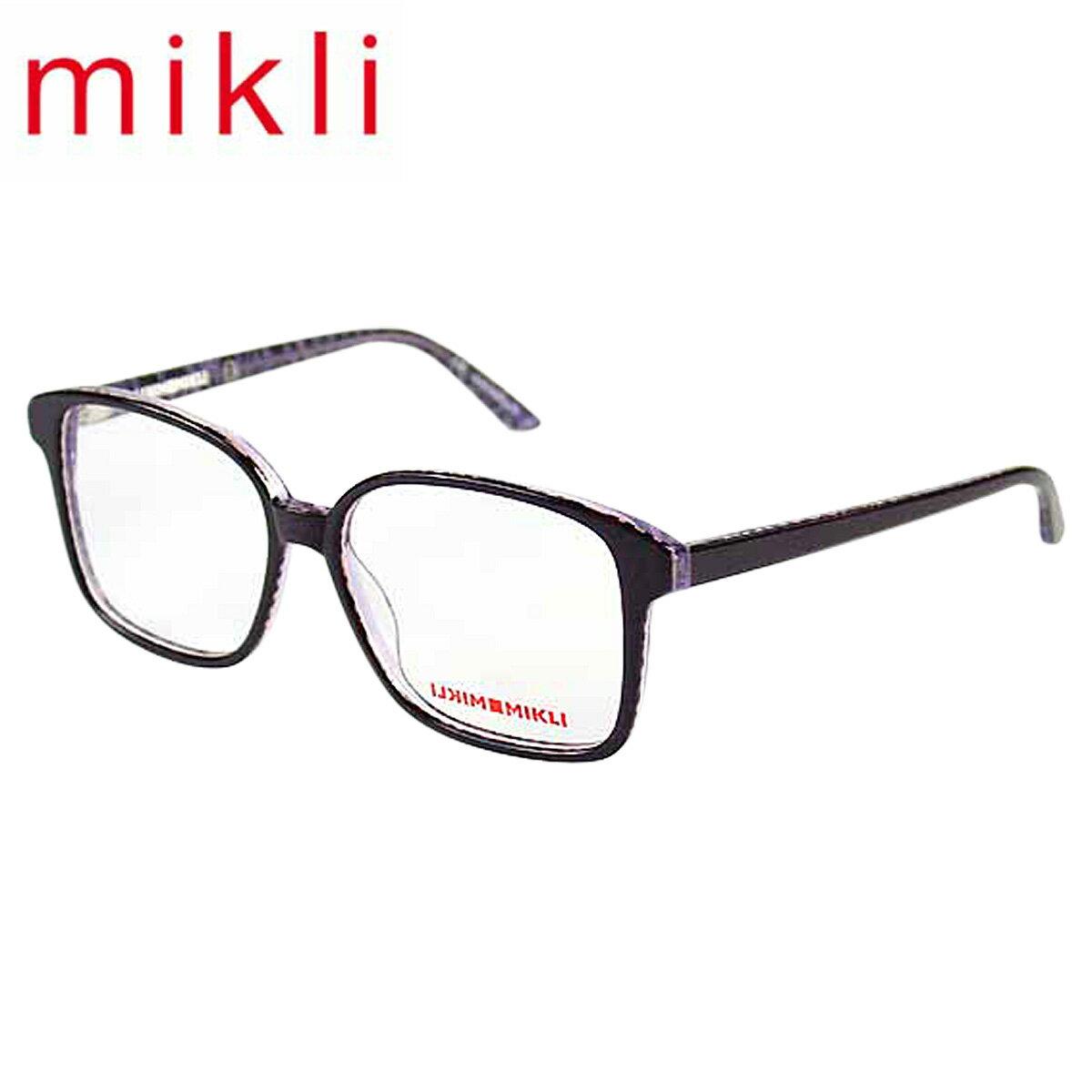 【最大2000円OFFクーポン ポイント最大32倍】 アランミクリ alain mikli メガネ 眼鏡 パープル ML1310 C002 セルフレーム サングラス メンズ レディース【返品不可】