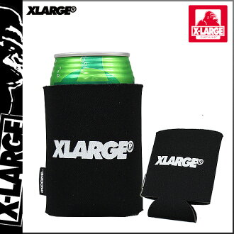 Men's extra large XLARGE SKULL CAN COOLER KOOZIE can cooler drink holder