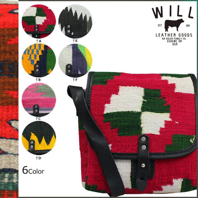 ウィルレザーグッズ WILL LEATHER GOODS ショルダー バッグ 6カラー SHOULDER BAG カバン 鞄 メンズ レディース 【CLEARANCE】【返品不可】