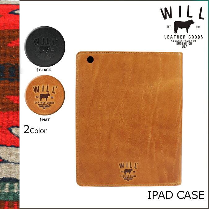 ウィルレザーグッズ WILL LEATHER GOODS レザー iPadケース タブレットケース グッズ 21046 2カラー DOUGLAS IPAD CASE メンズ 【CLEARANCE】【返品不可】