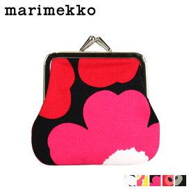 マリメッコ marimekko 財布 コインケース 小銭入れ がま口 034773 5カラー MINI UNIKKO MINI KUKKARO レディース