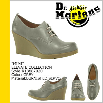 [SOLD OUT] Dr. Martens Dr.Martens pumps boots in gray R13887020 MIMI Leather Womens