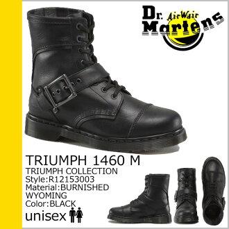 [SOLD OUT]博士马丁8礼堂1460男子的女子的Dr.Martens长筒靴TRIUMPH 8EYE BOOTS R12153003