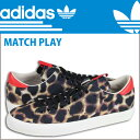 Adidas adidas MATCH PLAY WCAP sneakers [Leo soft-headed doh] G95756 leather men match play watercolor painting animal print [regular]