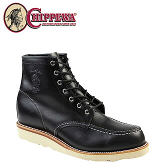 Chippewa CHIPPEWA 90091 6 inch モックトゥ boots 6 INCH MOC TOE BOOTS D wise leather men's