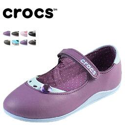 鐘表crocs小孩涼鞋女用淺口無扣無帶皮鞋10508 10530 11307海外正規的物品