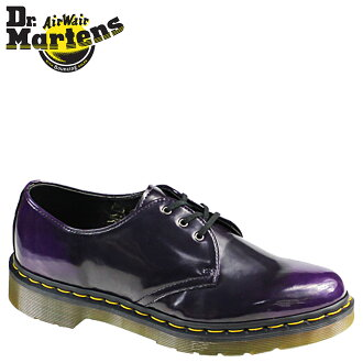Synthetic leather men's shoes Dr. Martens Dr.Martens 3 Hall [purple] R14046510 VEGAN 1461 [regular] fs04gm