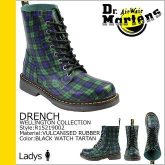 博士馬丁Dr.Martens 8禮堂長筒靴DRENCH R15219002人分歧D