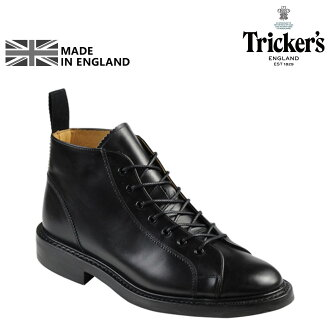 Trickers Tricker's Monkey boots ダイナイトソール M6077 MONKEY BOOT 5 wise calf leather mens Made In ENGLAND Trickers monkey boots