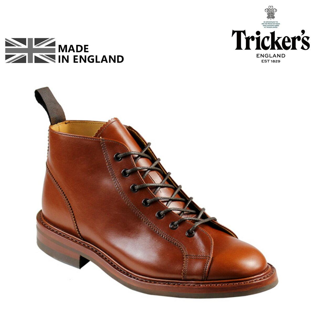 【最大2000円OFFクーポン】 トリッカーズ Tricker's モンキーブーツ MONKEY BOOT M6077 5ワイズ メンズ
