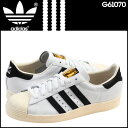 Adidas adidas SUPERSTAR 80s sneakers G61070 superstar leather men white [regular]