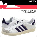 Adidas originals adidas Originals X Kazuki Kuraishi X Mark Mcnairy laboratory HOOK SHOT 84-LAB. Sneakers leather men gap Dis unisex white G96738 [regular]