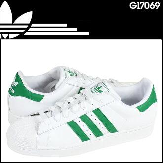 adidas originals superstar white green