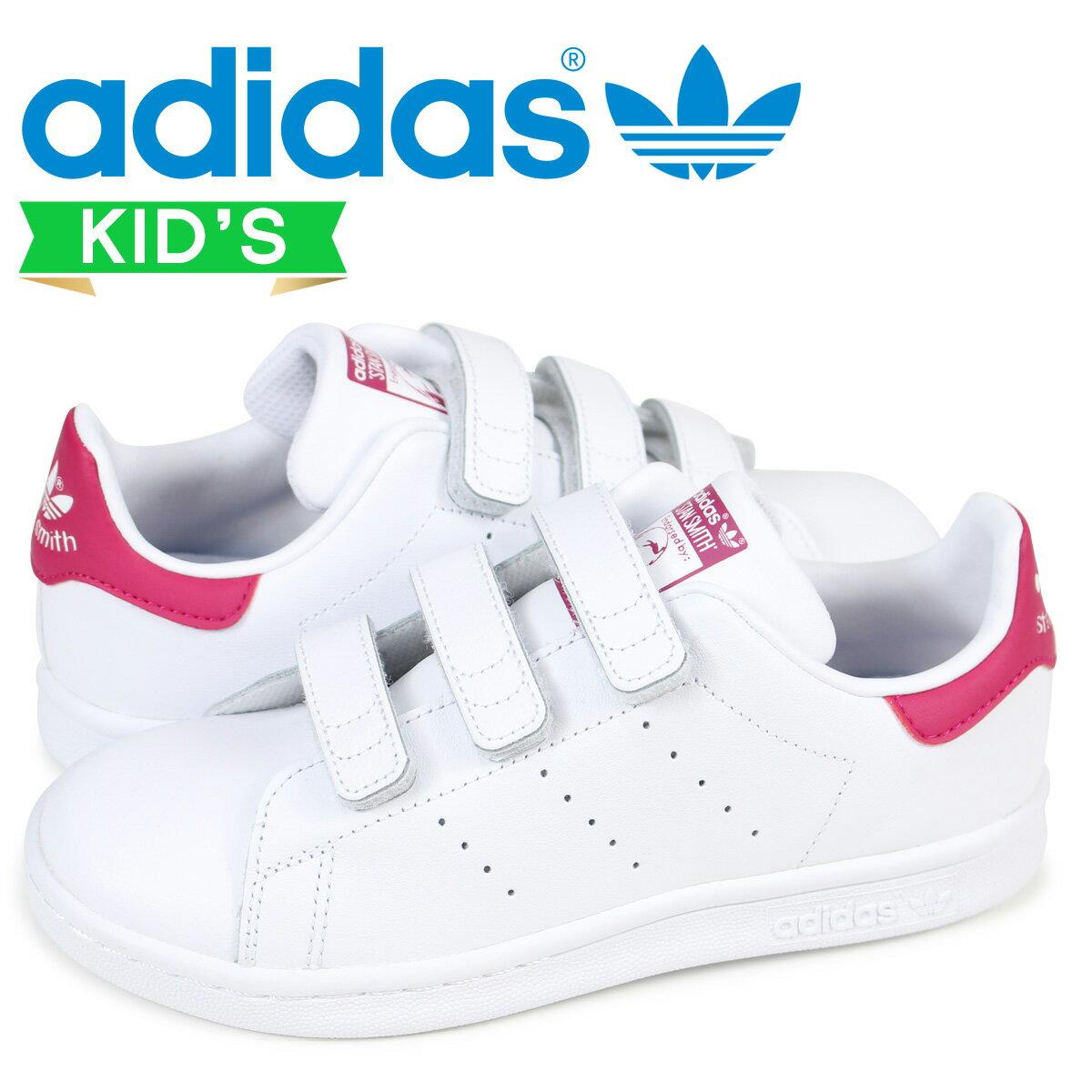 【最大2000円OFFクーポン】 アディダス オリジナルス スタンスミス キッズ adidas Originals スニーカー STAN SMITH CF C B32706 ホワイト