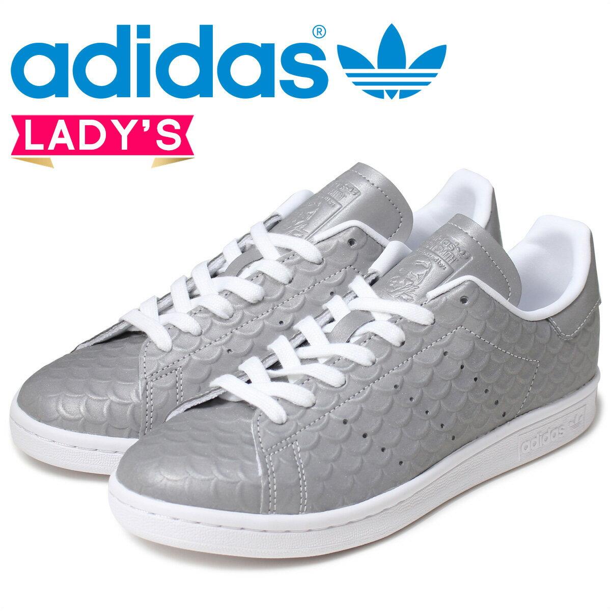アディダス スタンスミス レディース adidas Originals スニーカー STAN SMITH W BB5159 靴 シルバー オリジナルス