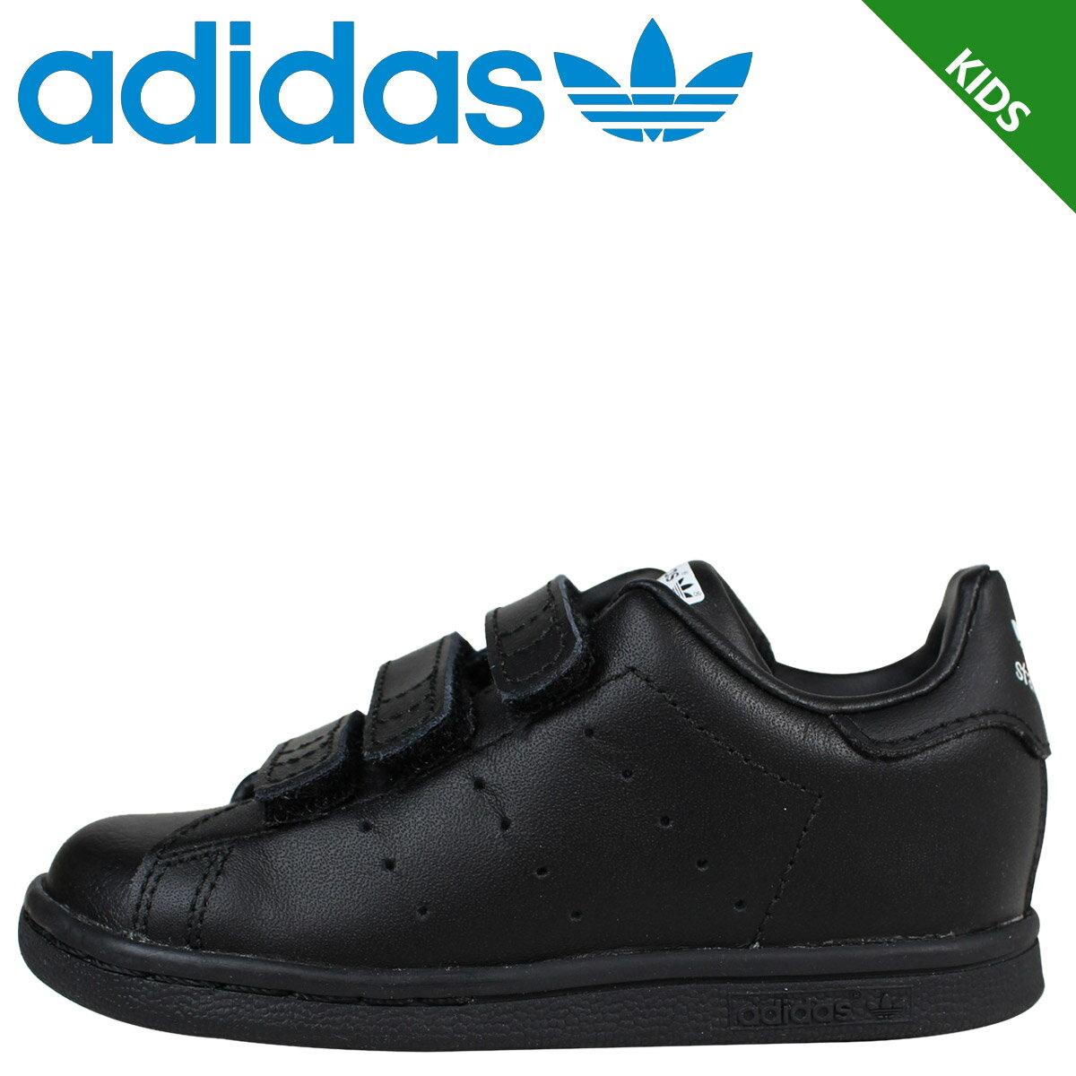 アディダス スタンスミス キッズ ベビー adidas スニーカー STAN SMITH CF I 靴 ブラック M20608