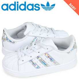 アディダス オリジナルス adidas Originals スーパースター スニーカー ベビー SUPER STAR EL I ホワイト CG6707