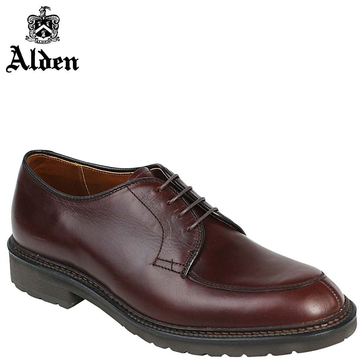 ALDEN オールデン シューズ メンズ MOCC TOE BLUCHER Dワイズ 7118S