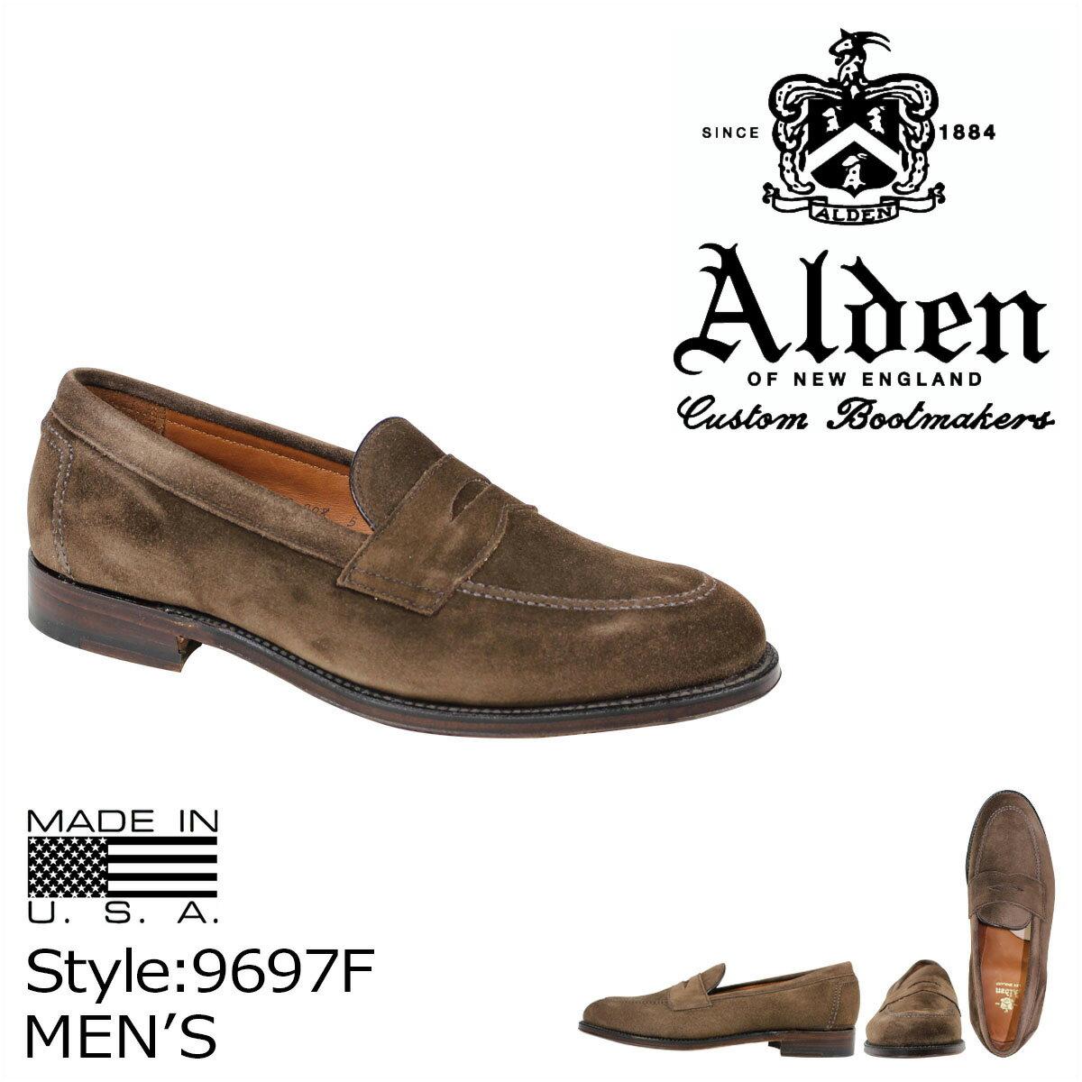 ALDEN オールデン ローファー シューズ メンズ PENNY LOAFER Dワイズ 9697F