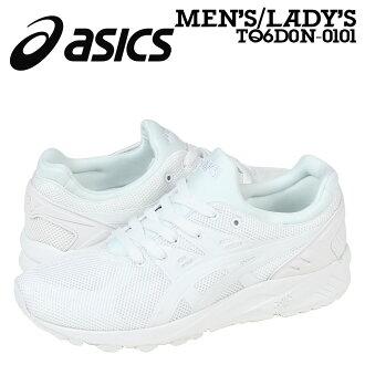 專用積體電路 ASIC 老虎老虎凝膠 Shinshu(Nagano) 教練運動鞋凝膠-萱野長知教練 EVO TQ6D 0N 0101年男式女式鞋子白色
