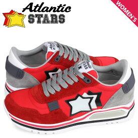 アトランティックスターズ Atlantic STARS シャカ スニーカー レディース SHAKA レッド CF-J04
