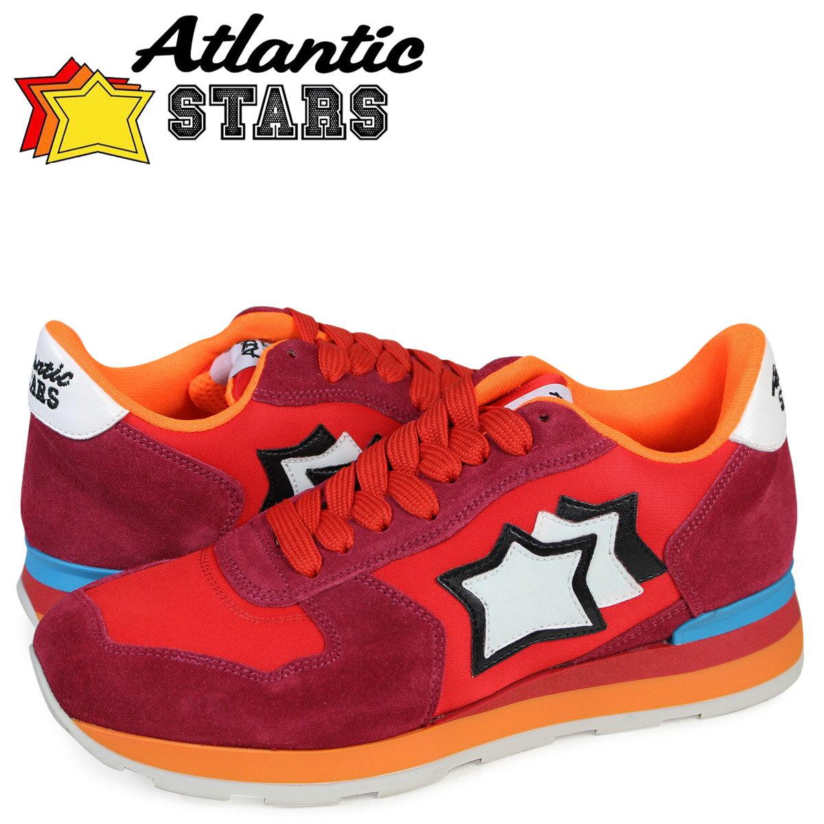 【最大1000円OFFクーポン ポイント最大30倍】 アトランティックスターズ レディース スニーカー Atlantic STARS ベガ VEGA FRA-85C 靴 レッド