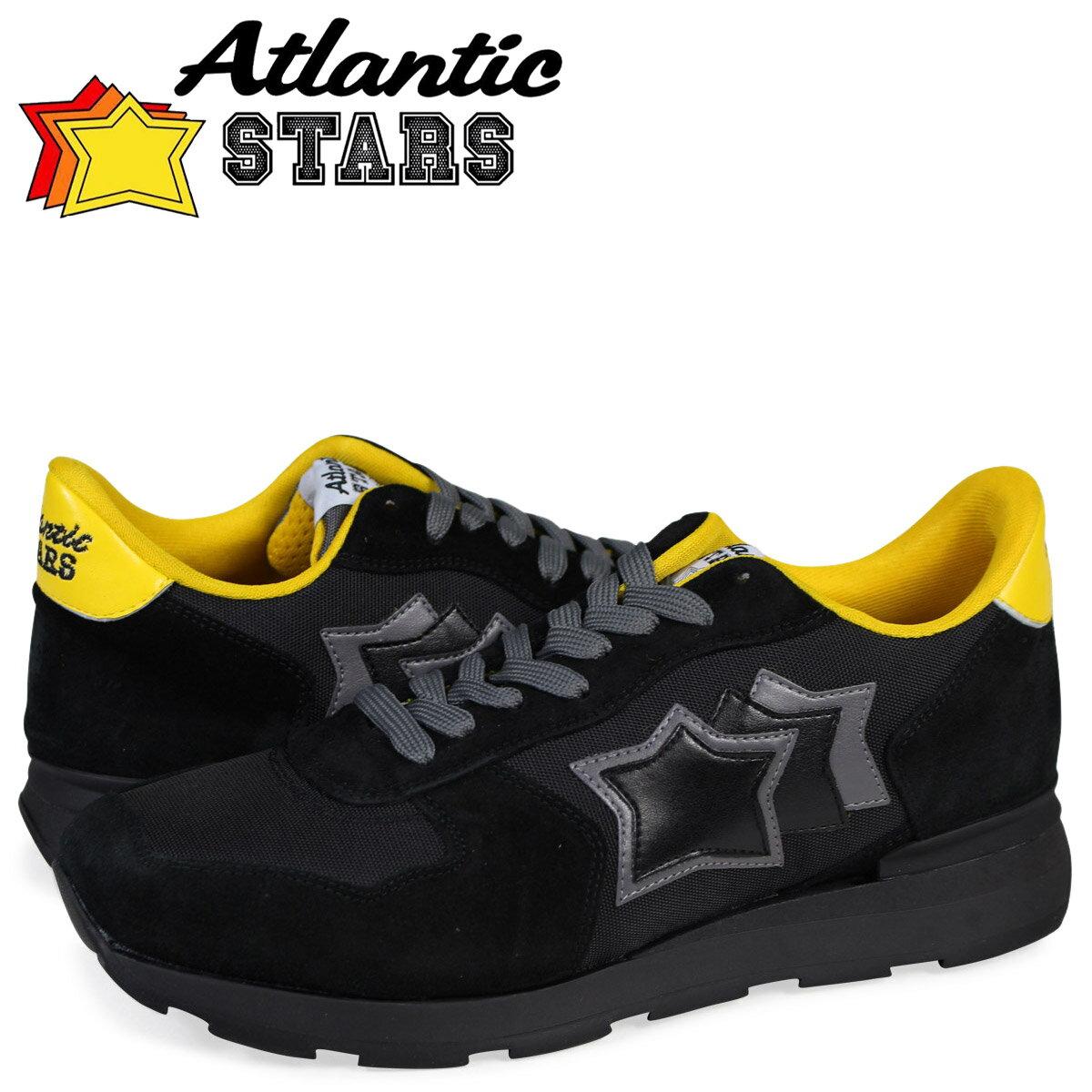 【最大1000円OFFクーポン ポイント最大30倍】 アトランティックスターズ メンズ スニーカー Atlantic STARS アンタレス ANTARES NTG-72N 靴 ブラック